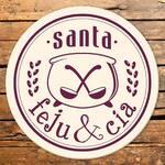 Logotipo Santa Feju e Cia