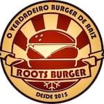 Logotipo Roots Burger Paulínia