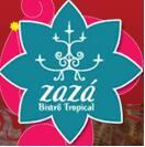 Logotipo Zazá Bistrô Tropical