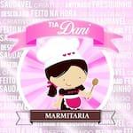 Logotipo Tia Dany Lanches, Pizzas e Marmitex