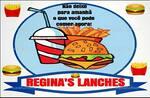 Logotipo Regina's Lanches