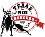 Logotipo Texas in Rio Burgers