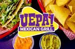Logotipo Uepa Mexican Grill