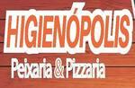 Logotipo Higienopolis Pizza e Rest de Peixes