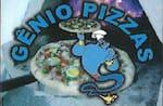 Logotipo Gênio Pizzas