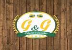 Logotipo G&g Porções e Lanches