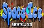 Logotipo Space Ice Sorvetes e Açaí