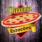 Logotipo Pizzaria Estações