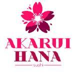 Logotipo Akarui Hana Sushi