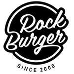 Logotipo Rock Burger - Praia do Canto
