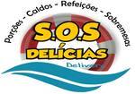 Logotipo Sos Delícias Delivery