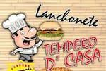 Logotipo Tempero D'casa Restaurante e Lanchonete