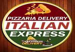 Logotipo Pizzaria Delivery Italian Express