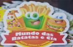Logotipo Mundo da Batata Cia e Pizzaria