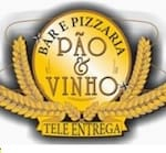 Logotipo Pizzaria Pao & Vinho