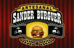 Logotipo Sander Burguer Artesanal na Brasa