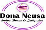 Logotipo Dona Neusa Bolos Doces e Salgados