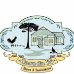 Logotipo Casa da Vó Hamburgueria e Petiscaria