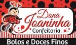 Logotipo Dona Joaninha Bolos e Doces Finos