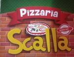 Logotipo Scalla Pizzaria U.b