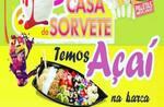 Logotipo Casa do Sorvete e Açaí