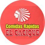 Logotipo Comidas Rapidas el Cacique