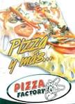 Logotipo Pizza Factory (Pereira)