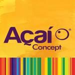 Logotipo Açaí Concept - Bacacheri Curitiba