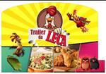 Logotipo Trailer da Leca Delivery