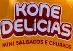 Logotipo Mega Kone Salgadinho Pastel Batata Frita