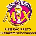 Logotipo Milk Shake Mix Ribeirao