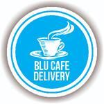 Logotipo Blu café