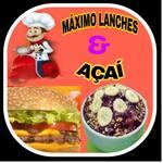 Logotipo Maximo Lanches e Açaí