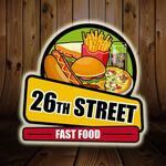 Logotipo 26 Street Fast Food