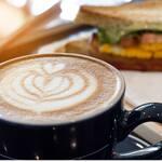 Logotipo Café México - Desayunos