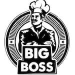Logotipo Big Boss Hamburgueria
