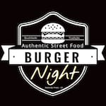 Logotipo Burger Night