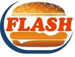 Logotipo Flash Burger Espetos
