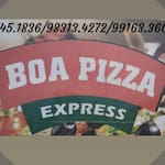 Logotipo Boa Pizza Express
