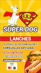 Logotipo Super Dog Lanches