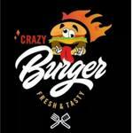 Logotipo Crazy Burguer (Diamante II)