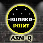 Logotipo Burger  Point AXM