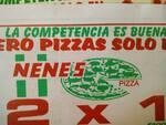 Logotipo Nenes Pizza