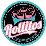 Logotipo Rollitos Sorvete Artesanal