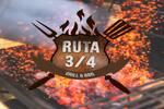 Logotipo Ruta 3/4