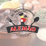 Logotipo Lanchonete do Alemao