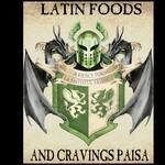 Logotipo Latín foods and craving paisa