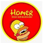 Logotipo Homer Lanches