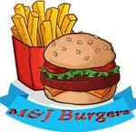 Logotipo M&J Burgers