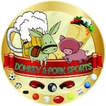 Logotipo Donkey Y Pork Sports